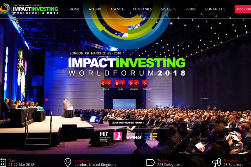 Impact investing World Forum