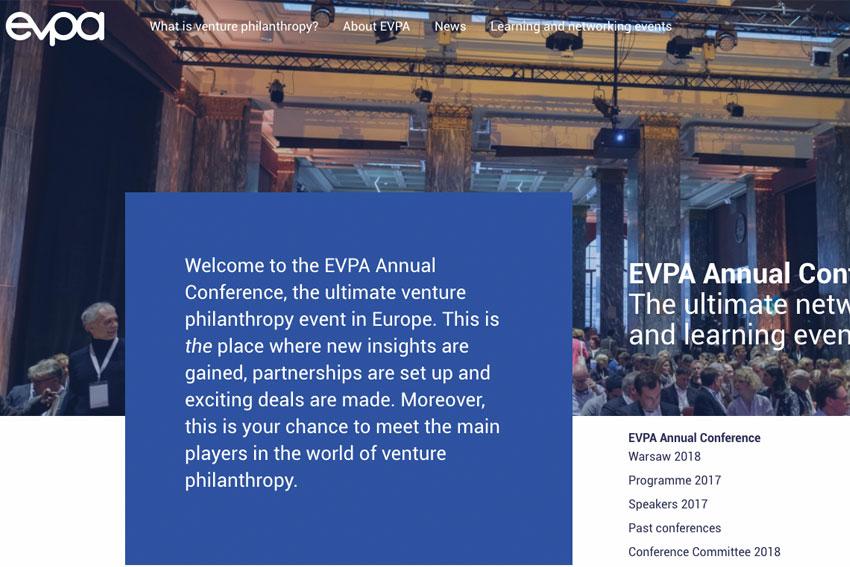 EVPA: 'Annual Conference 2018'