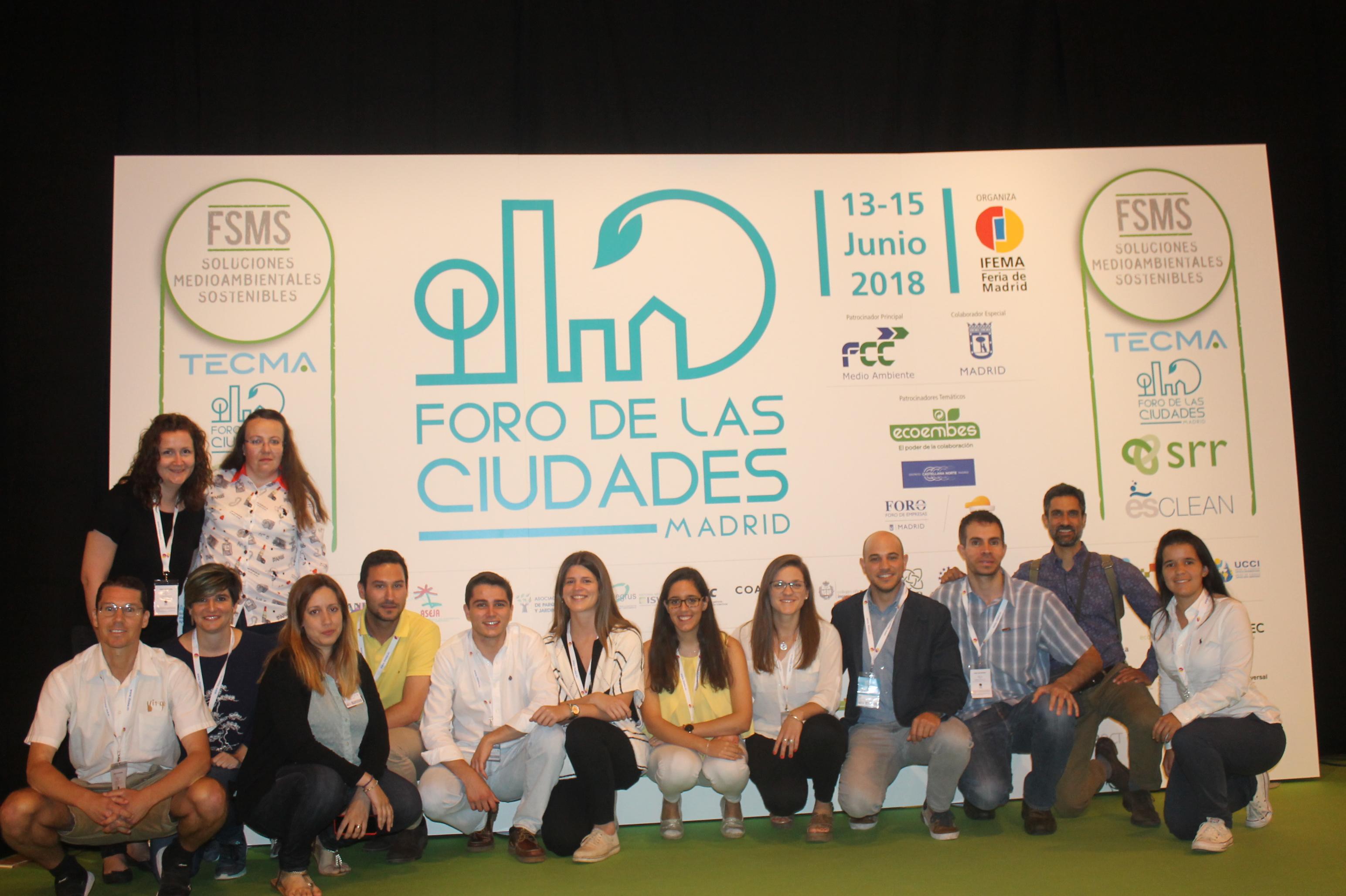 Impact4C promoviendo la cooperación público-privada y ecoemprendeduría, en el Foro de las Ciudades de Madrid 2018